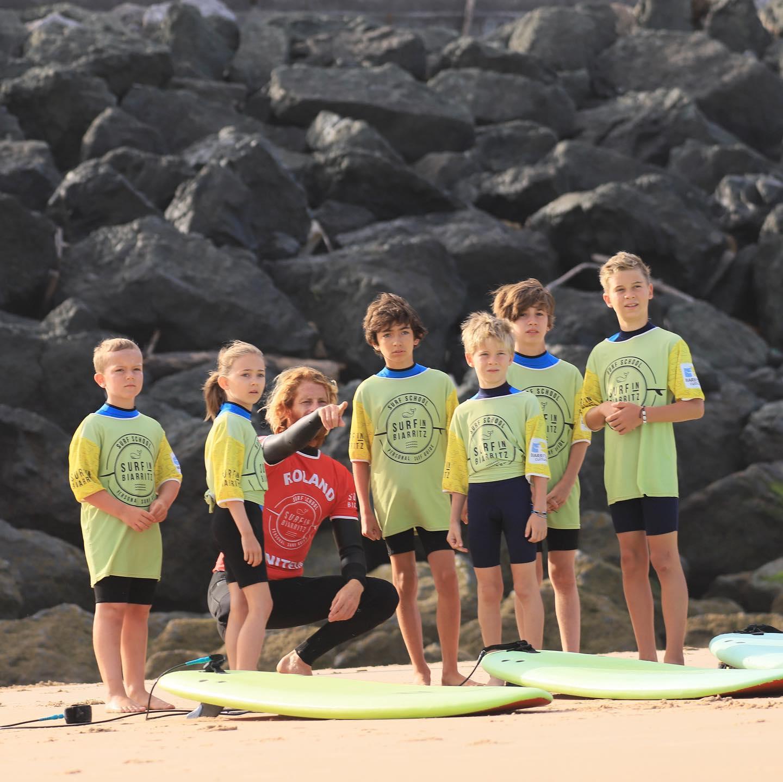 Les cours & stages de surf à biarritz