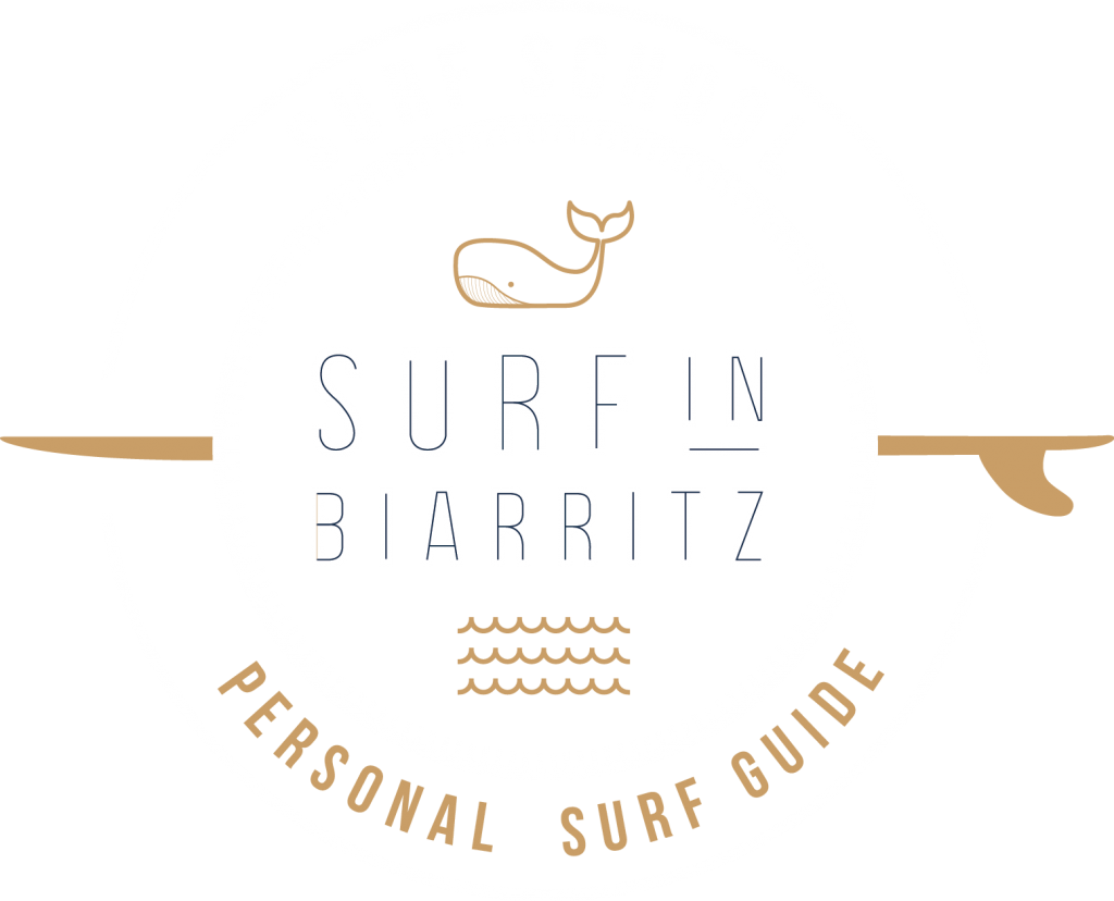 Logo école de surf Biarritz
