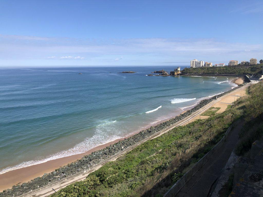 Stages & cours de surf Biarritz | Plage de la cote des basques