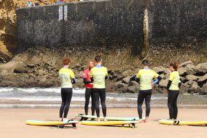 école de Surf Biarritz | Les premier cours de surf