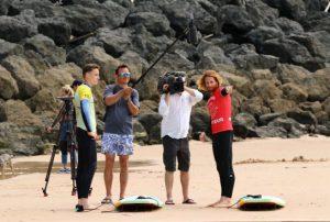 école de Surf Biarritz |Le reportage TV