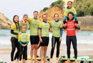 Ecole de Surf à Biarritz | Groupes de huit élèves