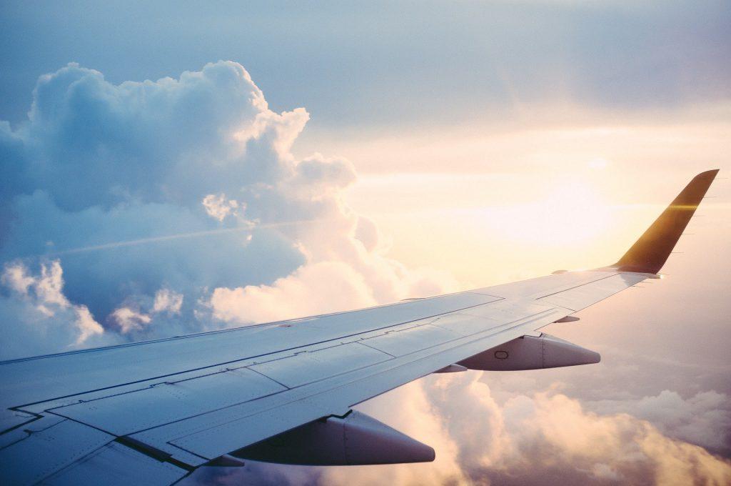 Avion pour venir à Biarritz