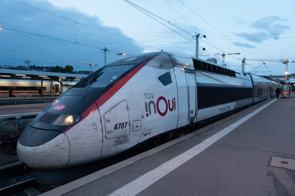 Le train pour venir surfer à Biarritz